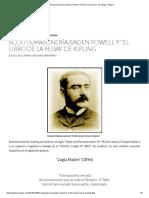 """Scouts,Masonería,Baden Powell y """"El Libro de La Selva"""" de Kipling - Page 4"""
