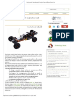 Design and Fabrication of IC Engine Powered Radio Control Car