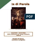 Sete di Parola - XXIII settimana T.O. - B.doc