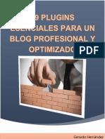 Plugin Para Un Blog Profesional