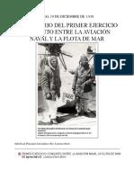 Primer Ejercicio Conjunto Entre La Aviación Naval La Flota de Mar