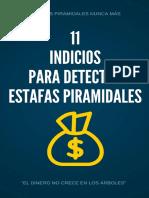11 Indicios detectar estafas pirámides