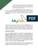 Mysql Blog