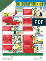 Afiche Uso Correcto de Plaguicidas