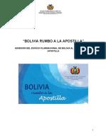 Bolivia Rumbo a La Apostilla