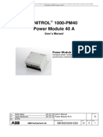 UNITROL1000-PM40 User's Manual E Reva