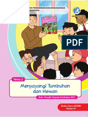 Buku Guru Kelas 3 Tema 2 Revisi 2018