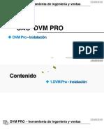 Guía de Instalación DVM Pro