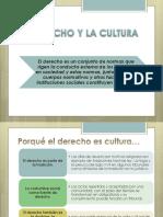 El Derecho y La Cultura