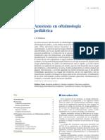 Anestesia en oftalmología pediátrica