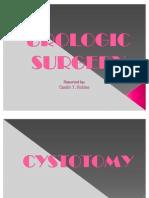 Urologic Surgery