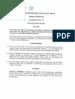 Acuerdo 10 Derechos Pecuniarios 2018