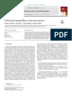 A FPGA Based Implementation of Sobel Edge Detection