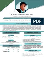Cv,Romero Pérez Alex