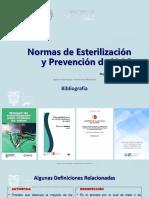 Normas de Esterilización y Prevención de Iaas