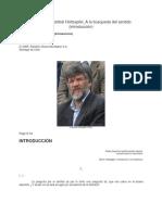 A La Búsqueda Del Sentido, Hopzafel, Intro