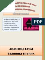 Diapos Hipertiroidismo e Hipotiroidismo