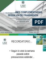 Clase 2.1 Precauciones Complementarias según vÃ_a de transmisión
