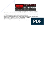 Gaglione Strength 6 Week Peaking Program
