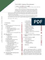 Resource Letter - Quantum Chromodynamics