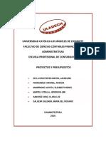 Valorizaciones Presupuestarias -  (1)