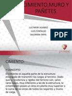 Cimiento%2c Muro y Pañete
