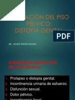 22. Alteración Del Piso Pélvico_Dr. Quispe