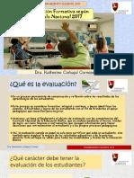 Evaluación Formativa de Los Aprendizajes Segun El Cn 2017 (1)