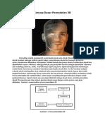 Konsep Dasar Pemodelan 3D