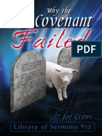 Why the Old Covenant Failed