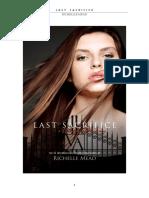 Academia de Vampiros - Ultimo Sacrificio 6