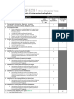 peds spa intervention plan rubric-1
