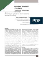 Biotecnologia Agropecuario Colombiano