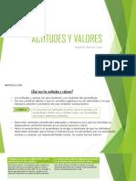 Actitudes y Valores (1)