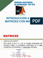 Matrices Matlab 1