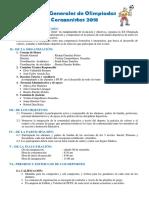 Bases Del Campeonato 2018 Alumnos