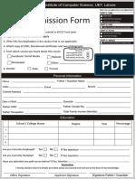 Admission Form Final
