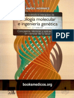 Texto Ilustrado de Biologia Molecular e Ingenieria Genetica 2da Edicion- Angel Herraez