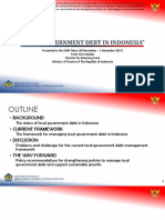 Local Government Debt in Indonesia