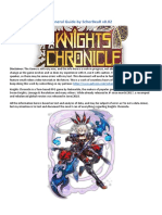 Knights Chronicle General Guide by ScherBeaR