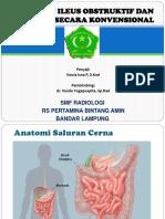 Patofisiologi Ileus Obstruktif