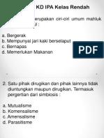 Soal Konsep Dasar IPA Kelas Rendah.pptx
