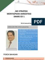 Strategi Dan Tips Snars 20181