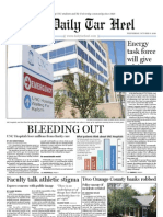 The Daily Tar Heel for October 6, 2010