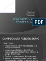 Campeonato de Robots Sumo