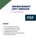 Soil Improvement on Soft Ground