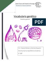 vocabulario genetico