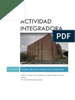 Actividad integradora Calcula altura por medio de la caída libre