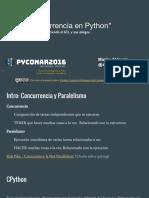 Concurrencia en Python
