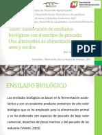 Elaboración de ensilados Biológicos a base de los desechos de pescado